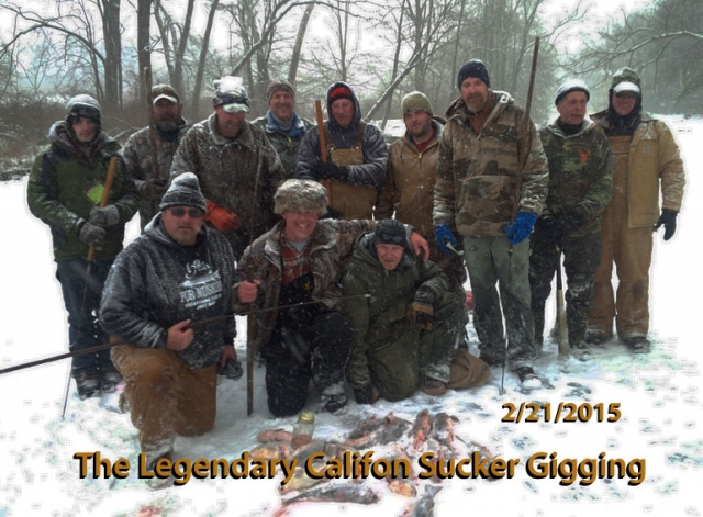 The Legendary Califon Sucker Gigging -