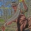 Ken Beam NJ Pike Fishing Passaic River