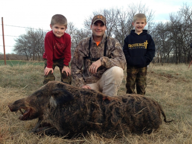 Youth Boar Hunt