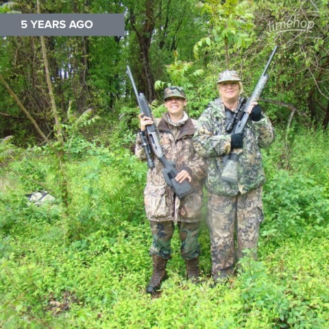 Nr And jess hunting 2010